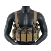 8FIELDS OPEN TOP CHEST RIG - MULTICAM