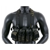 8FIELDS COMPACT MULTI-MISSION CHEST RIG - MULTICAM BLACK