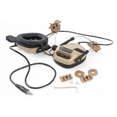 EARMOR HELMET HEADSET M32 WITH NOISE PROTECTION - TAN