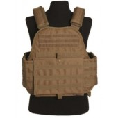 MILTEC COLETE TACTICO PLATE CARRIER COYOTE