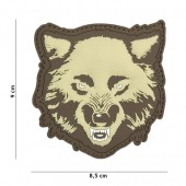 ACM PATCH 3D PVC WOLF COYOTE