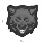 ACM PATCH 3D PVC WOLF GREY