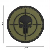 ACM PATCH 3D PVC PUNISHER SIGHT GREEN
