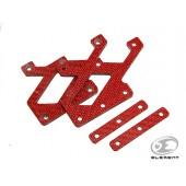 ELEMENT C-MORE MOUNT CARBON PLATE RED