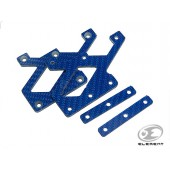 ELEMENT C-MORE MOUNT CARBON PLATE BLUE