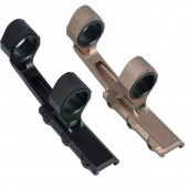 "AIM-O 25.4/30MM 2"" EXTENDED SCOPE MOUNT FOR OPTICS WITH BUBBLE LEVER - BLACK"