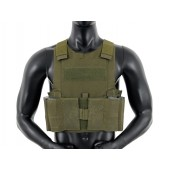 8FIELDS LOW PROFILE BODY ARMOR OD