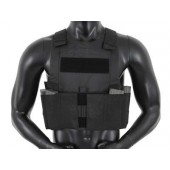 8FIELDS LOW PROFILE BODY ARMOR BLACK