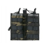 8FIELDS 5.56 MAG/ADMIN POUCH MULTICAM BLACK