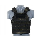 8FIELDS ULTIMATE OPERATOR PLATE CARRIER W/ DUMMY SAPI PLATES - MULTICAM BLACK