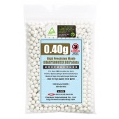 GUARDER HIGH PRECISION MADE - 0.40G BB PELLETS (1000 ROUNDS, BAG)