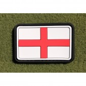 JTG ENGLAND FLAG FULL COLOR 3D RUBBER PATCH