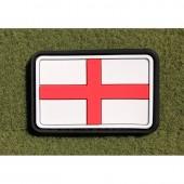 JTG ENGLAND FLAG FULL COLOR 3D RUBBER PATCH