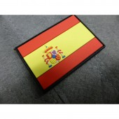 JTG SPAIN FLAG PATCH SMALL 3D RUBBER