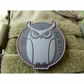 JTG NO SLEEP SPECIAL OPS OWL 3D RUBBER