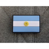JTG ARGENTINA FLAG PATCH 3D RUBBER