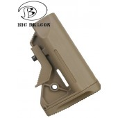 BIG DRAGON SPECIAL FORCE CRANE STOCK TAN