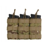 8FIELDS MODULAR OPEN TOP TRIPLE MAG POUCH FOR 5.56 MULTICAM