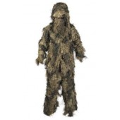 MILTEC WOODLAND 'BASIC' GHILLIE SUIT 'ANTI FIRE' 4PC