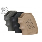 BIGDRAGON ANTISKID RUBBER GRIP FOR REVOLVER BLACK