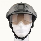 EMERSON FAST HELMET WITH PROTECTIVE GOGGLE PJ TYPE FOLIAGE