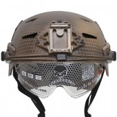 EMERSON EXF BUMP HELMET NAVY SEAL WITH PROTECTIVE GOOGLES