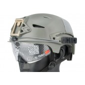 EMERSON EXF BUMP HELMET FOLIAGE WITH PROTECTIVE GOOGLES