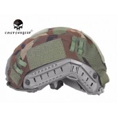 EMERSON TACTICAL HELMET COVER WOODLAND