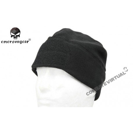 b9a6b4cb51f EMERSON FLEECE VELCRO WATCH CAP BLACK - Combate Virtual - Loja de ...