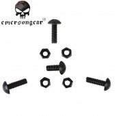 EMERSON MICH HELMET SCREWS 4 PIECES