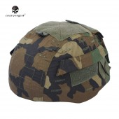 EMERSON MICH 2002 HELMET COVER WOODLAND