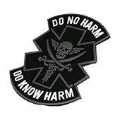"EMERSON PVC ""DO NO HARM"" BLACK"