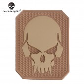EMERSON PIRATESKULL PVC PATCHS TAN