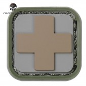 EMERSON MEDIC SQUARE PVC PATCH Nº1