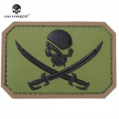 EMERSON PIRATESKULL PVC PATCH Nº4