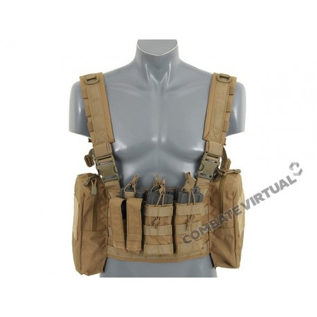 8FIELDS ENHANCED PATROL CHEST RIG TAN