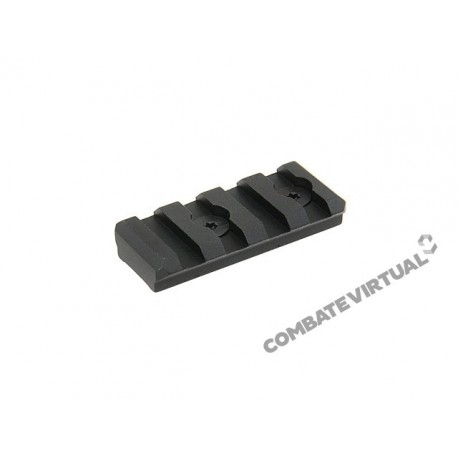 BIGDRAGON 4 SLOTS PICATINNY RAIL FOR KEY-MOD HANDGUARD MOD 2 BLACK