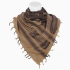 ACM PLO SCARF STAR COYOTE/BLACK
