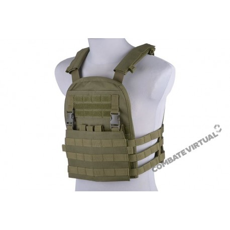 GFC PLATE CARRIER W/ REMOVAL PANEL TACTICAL VEST OD